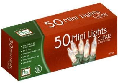 HW 50CT CLEAR LIGHT SETÂ