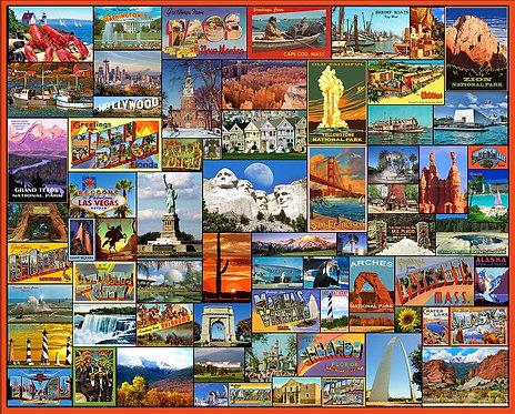 PUZZLE 1000 BEST PLACES IN AMERI