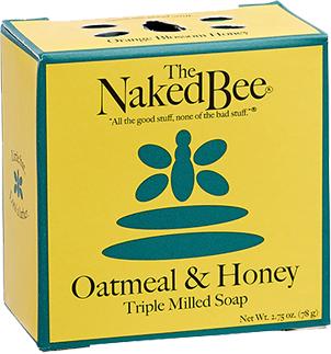 NAKED BEE - Oatmeal & Honey Soap