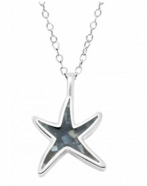 DUNE JEWELRY - Delicate Starfish Lobster Necklace
