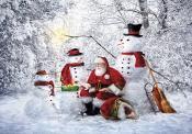 Snowy Friends Advent Calendar