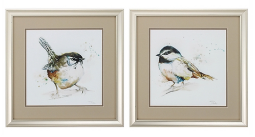 Watercolor Birds (sold separately)