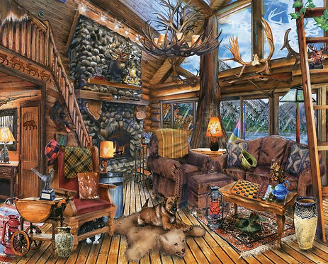 PUZZLE 1000 HUNTING LODGE