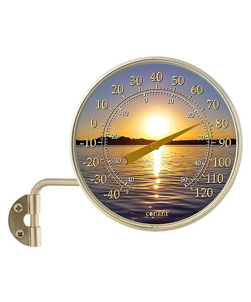 """4"""" Dial Thermometer - Sunset"""
