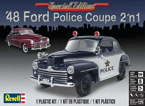 MODELS - 48 FORD POLICE COUPE 1/25