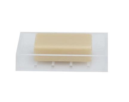 Metropolis Soap Dish - White