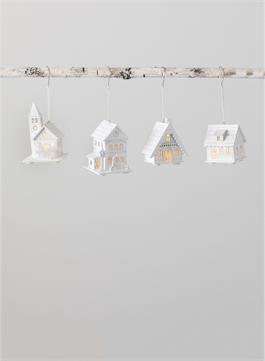 LED House Ornament (EACH)