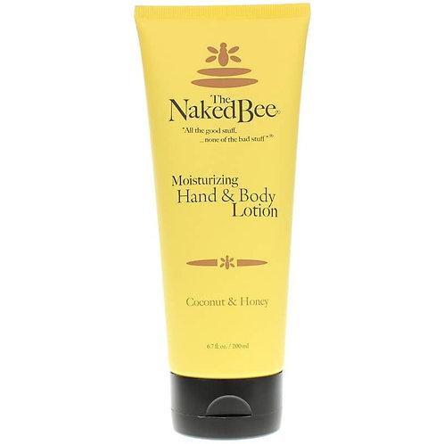 NAKED BEE - Coconut Hand/Body 6.7 Oz.