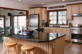 kitchen: harborview beachfront cape cod vacation home