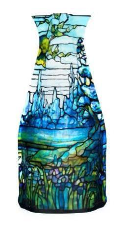 Modgy Expandable Flower Vase (Louis C. Tiffany - Iris Landscape)