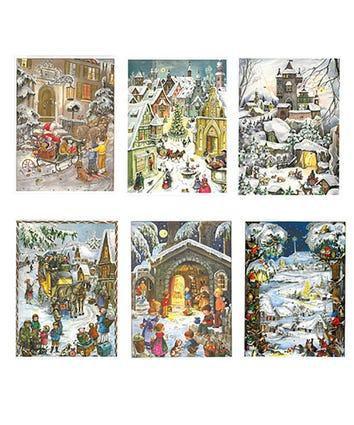 Glitter Advent Calendar -Assorted (EACH)