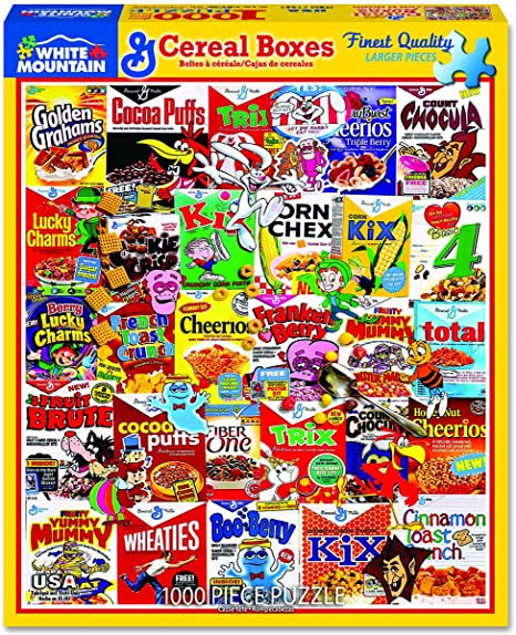 PUZZLE 1000 CEREAL BOXES