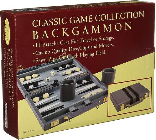 "GAME BACKGAMMON 11"" CASE"