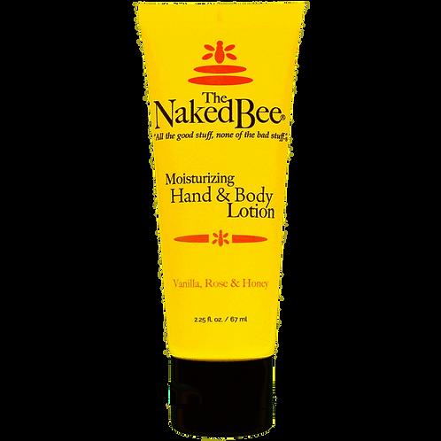 NAKED BEE - Vanilla Rose Body Lotion 6.7 oz.