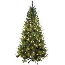 Pre-Lit Kentucky Fir Tree 9 FT