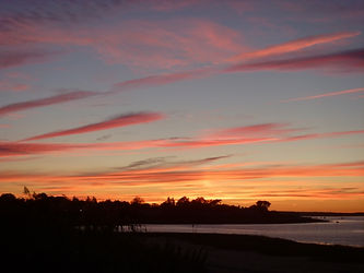 Barnstable Harbor sunset