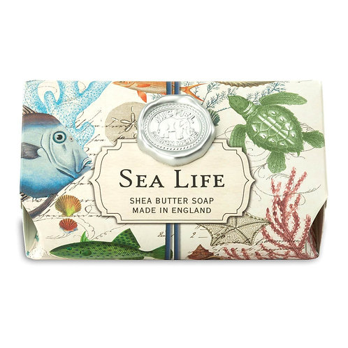 BATH SOAP BAR SEA LIFE