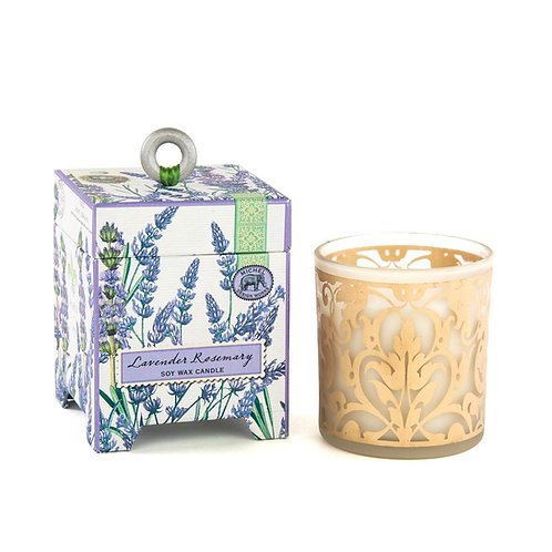 CANDLE, LAVENDER ROSEMARY SOY