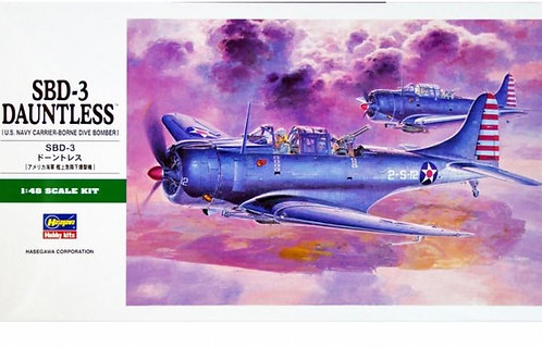 MODELS - 1/48 SBD-3 DAUNTLESS
