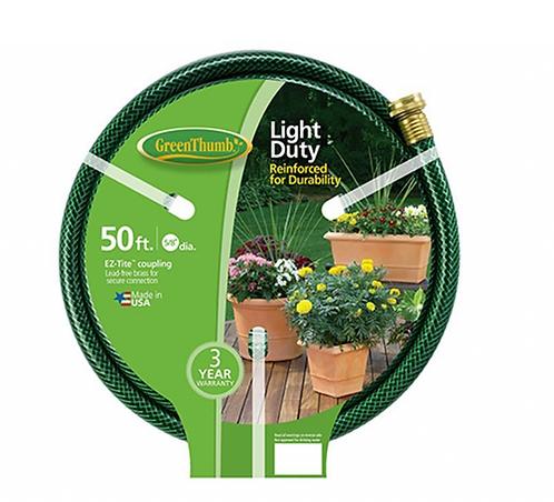 """Garden Hose 5/8""""x50' - Light Duty"""