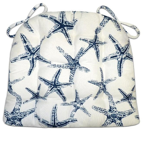 Sea Shore Starfish Chair Pad