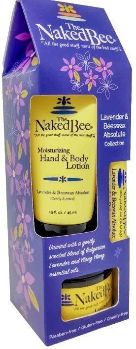NAKED BEE - Assorted Lavendar Gift Set