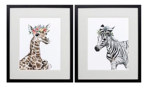 Giraffe or Zebra (sold separately)