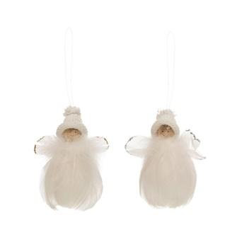 Feather Angel Ornament (EACH)