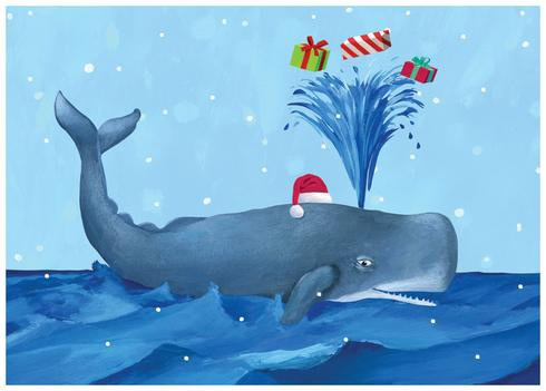 Whale Holiday - Box (15 cards)