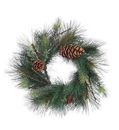 Pine Juniper Cone Wreath