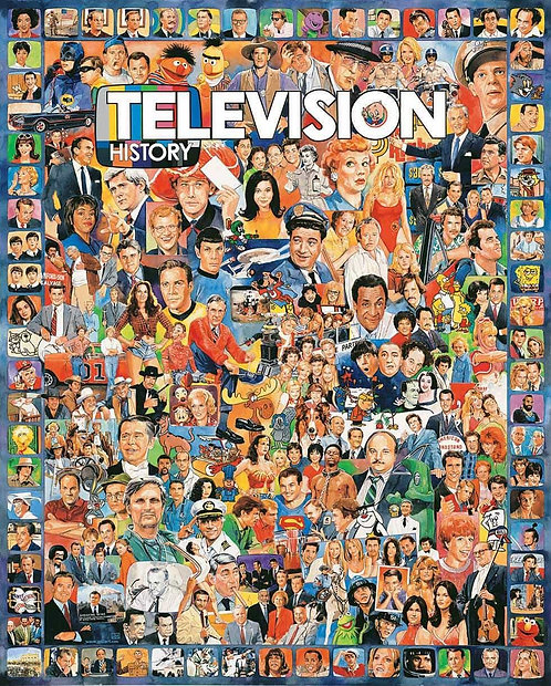 PUZZLE 1000 TELEVISION HISTORY