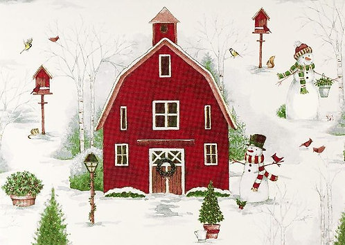 Country Winter - Box (20 cards)