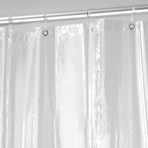 10 GAUGE CLEAR SHOWER CURTAIN