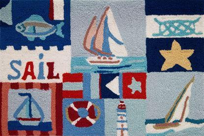 SAILING DAY POLYESTER 22X34