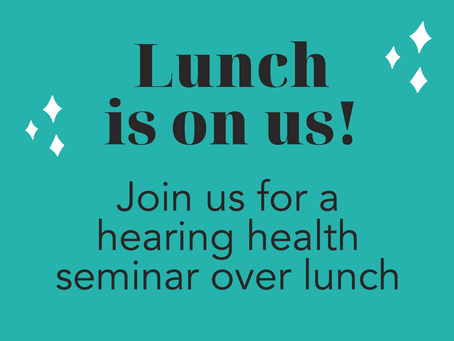 Free Luncheon Seminar Event