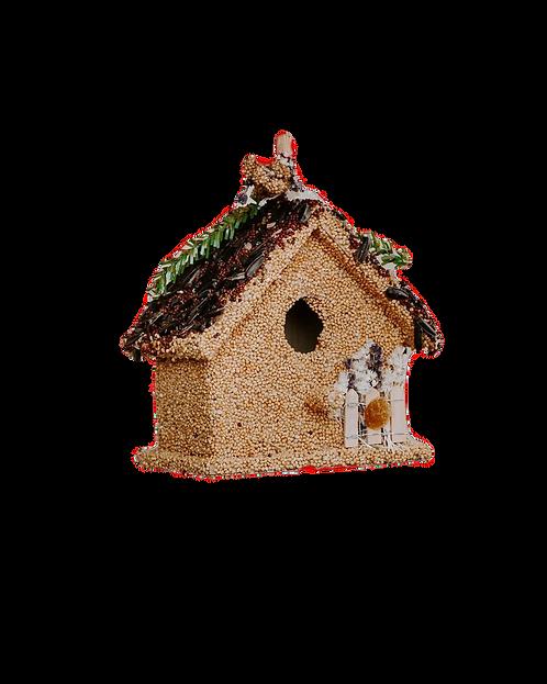 Bcasita Wild Bird Seed Birdhouse