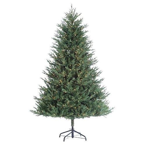 Pre-Lit Kentucky Fir Tree 7.5 FT