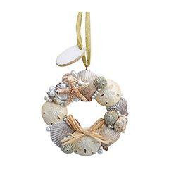SHELL WREATH ORNAMENT