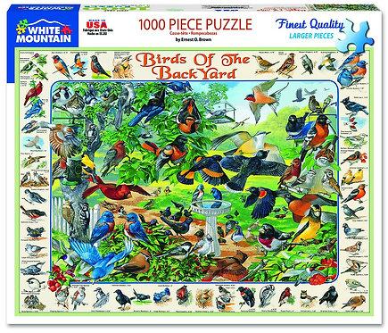 PUZZLE 1000 BIRDS BACKYARD