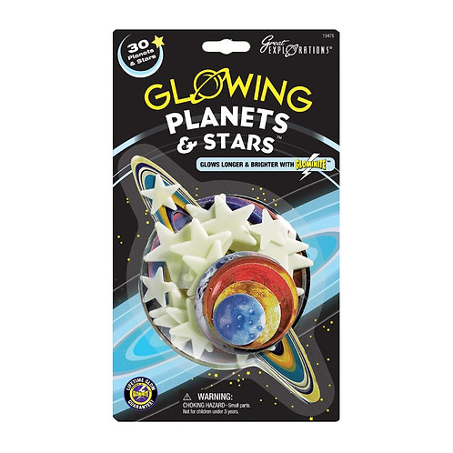 TOY GLOW PLANETS AND STARS DISC