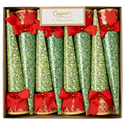 Boxwood Topiary Christmas Crackers
