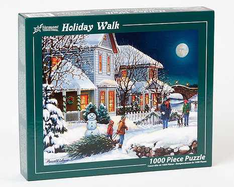 1000 pc Holiday Walk Puzzle