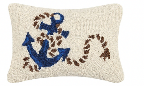 Anchor & Rope Pillow