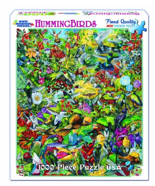 White Mountain - Hummingbirds Puzzle