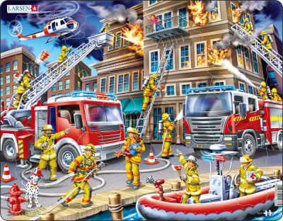 PUZZLE 45 FIREFIGHTER