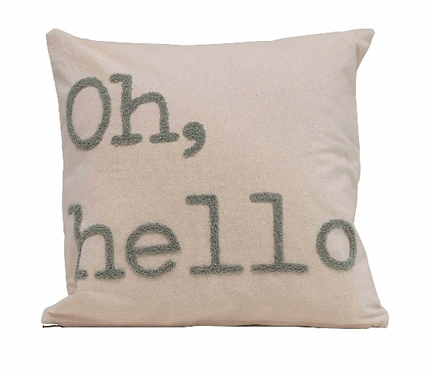 Oh, Hello Pillow