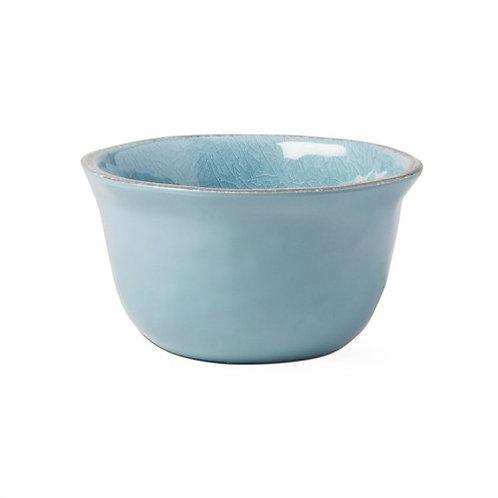 Aqua Melamine Dip Bowl
