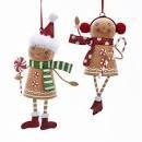 Gingerbread Metal Figure (EACH)