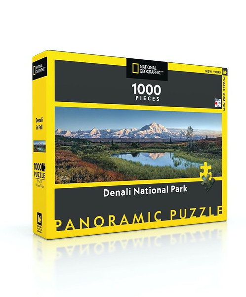 PUZZLE 1000 DENALI NATIONAL PARK