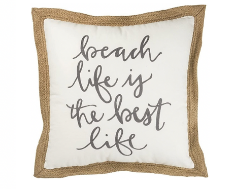 Beach Life Pillow